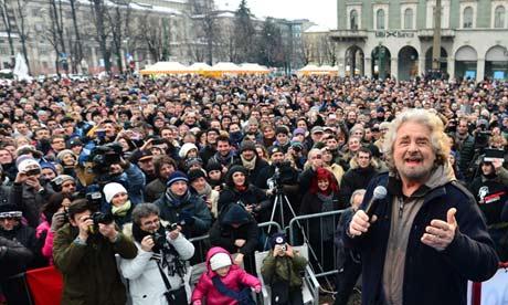 Vitória de Grillo nas eleições surpreende Itália