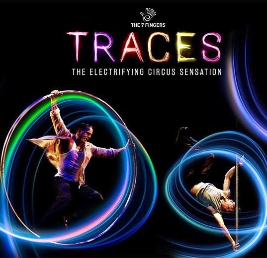 """Traces"": fantasia e poesia acrobáticas"