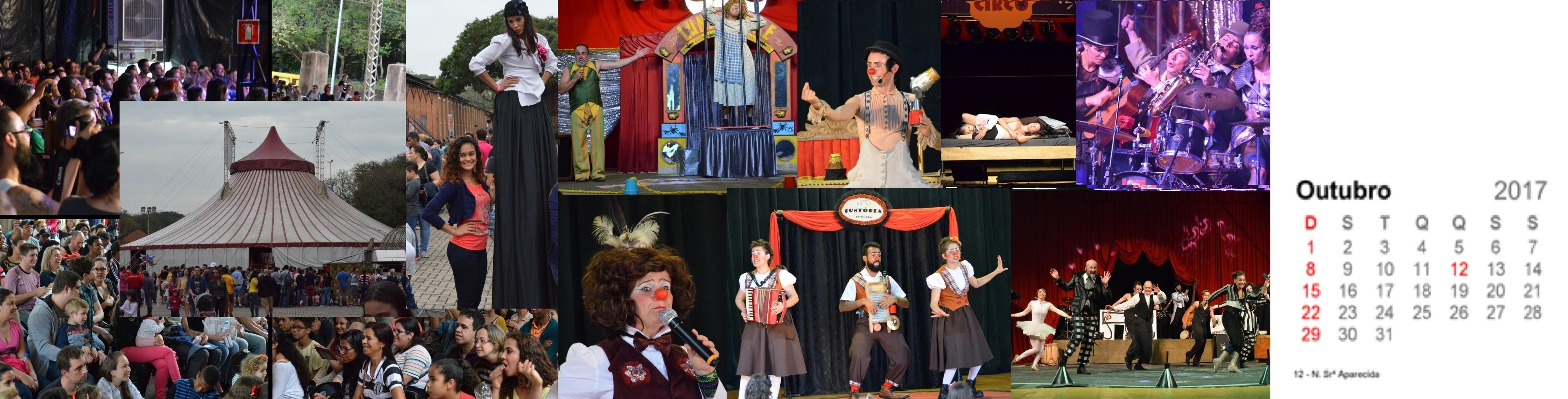 Outubro - Mais de 45 mil pessoas prestigiam o Festival de Circo de Piracicaba (SP)
