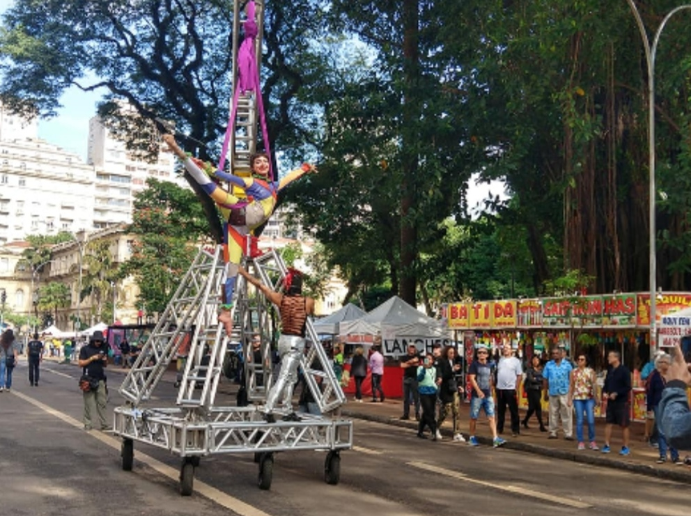 Circo na Virada Cultural