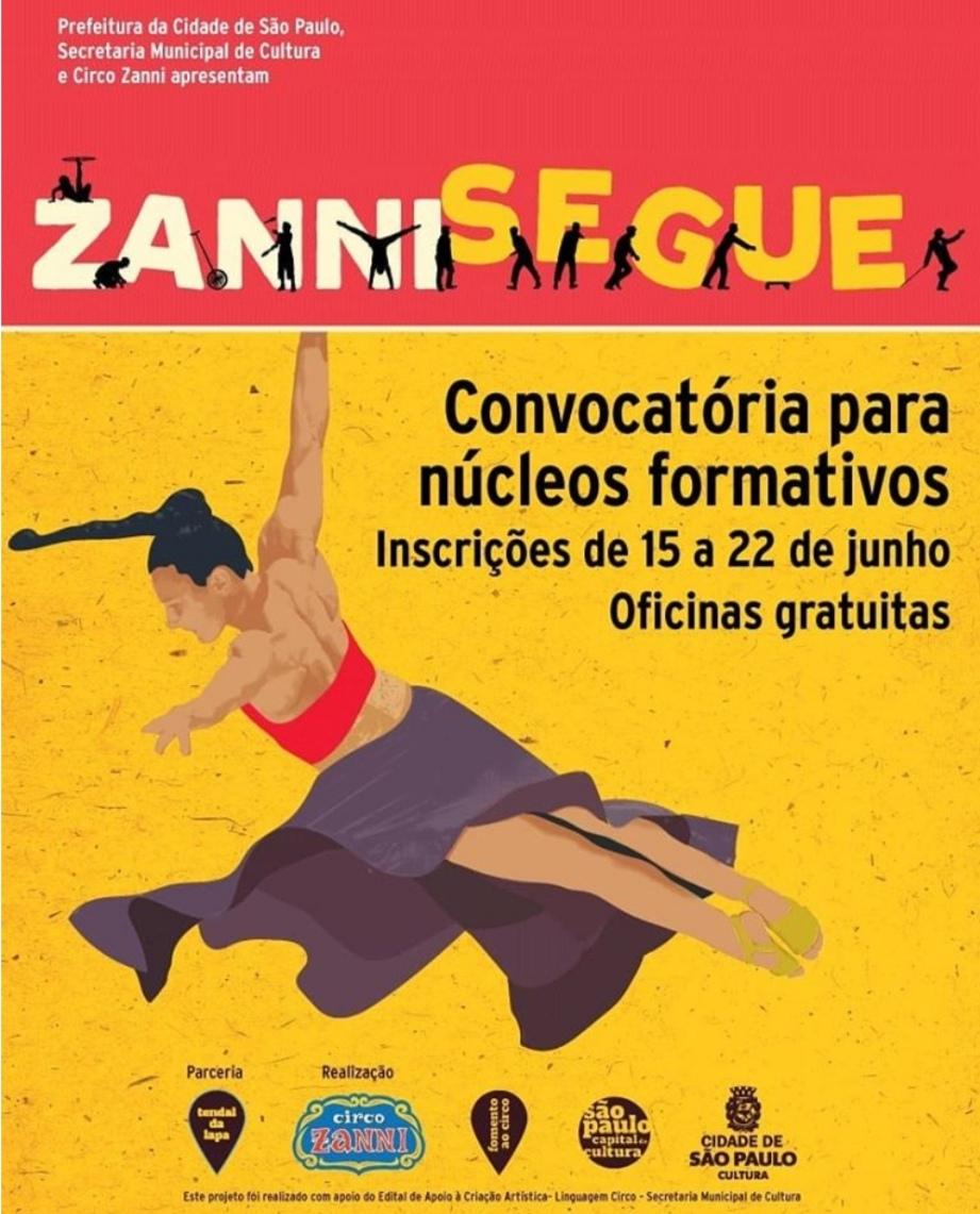 Zanni promove encontros de criação