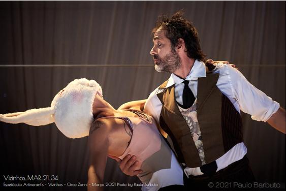 Divirta-se a partir deste mês com espetáculos circenses da Artinerant´s